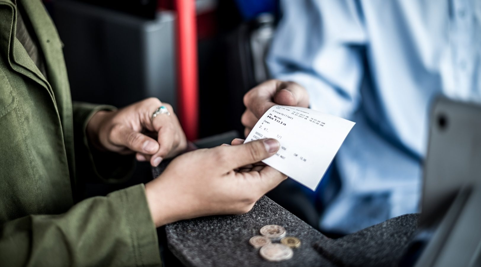Einzelbillett Engadin Bus