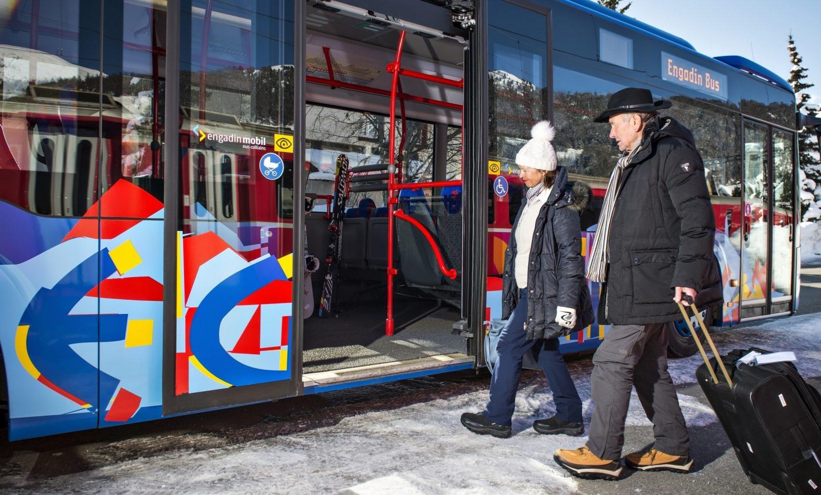 Engadin Bus Gepäck