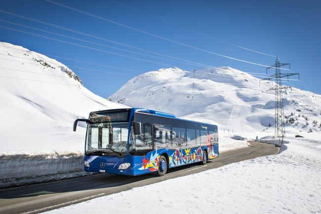 Engadin Bus Winter