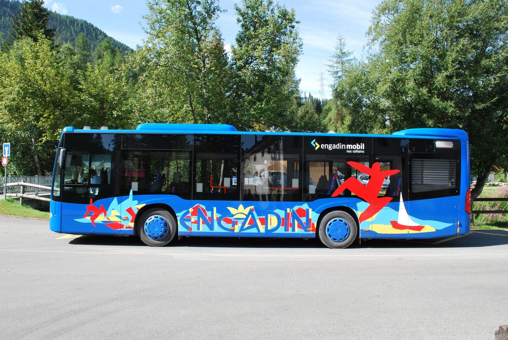 Engadin Bus Solobus Mercedes Citaro