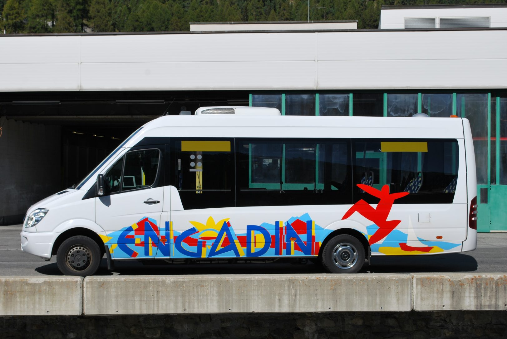Engadin Bus Mercedes Sprinter