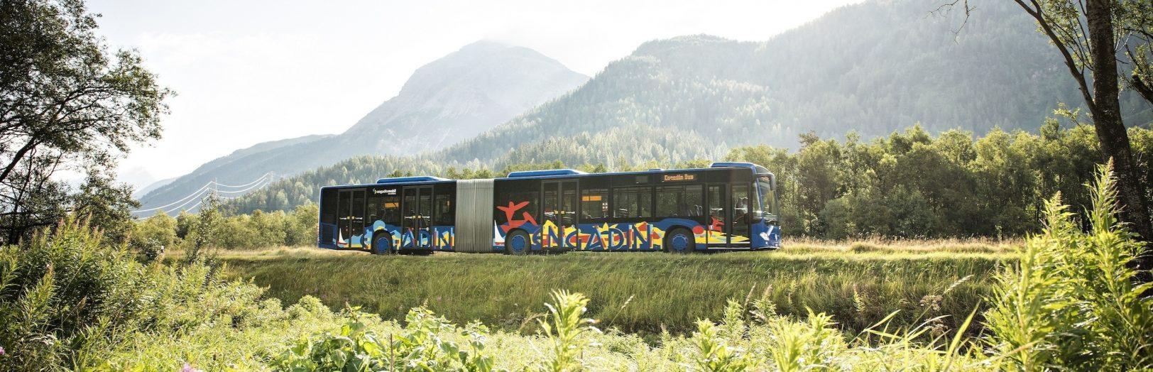 Engadin Bus Gelenkbus