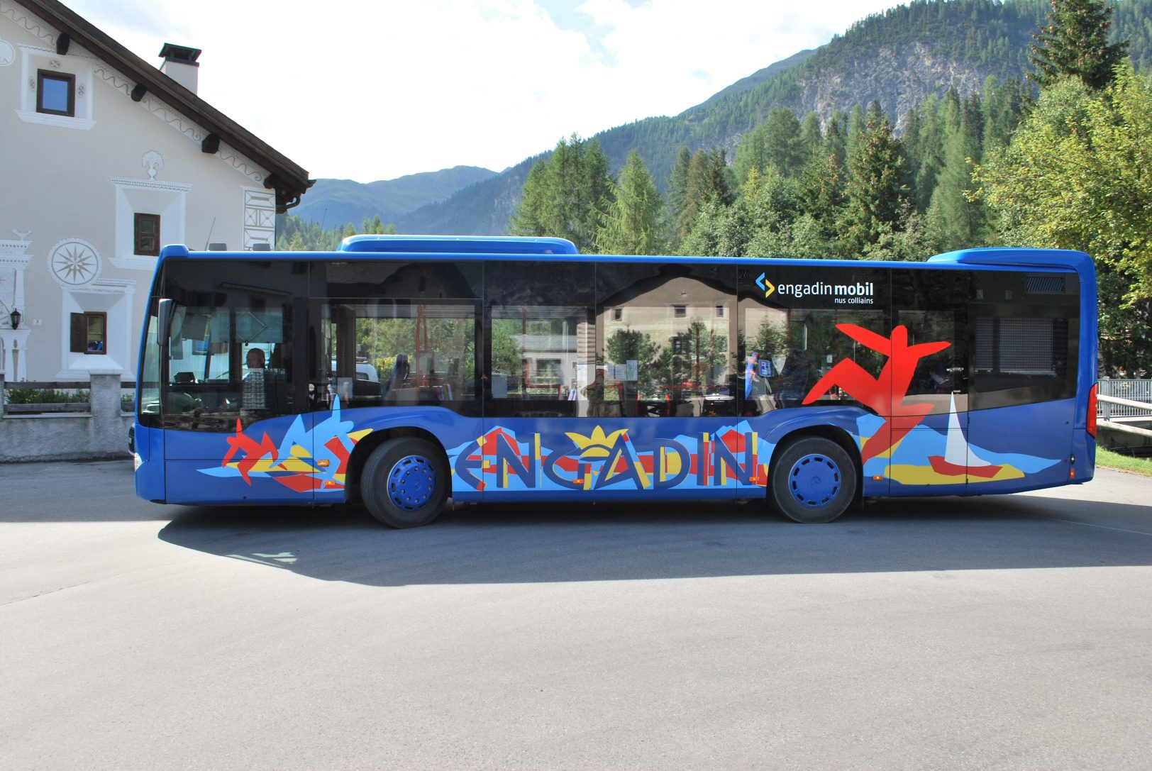 Engadin Bus Solobus Sommer