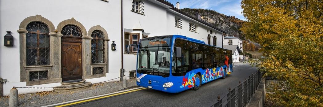 Engadin Bus Herbst