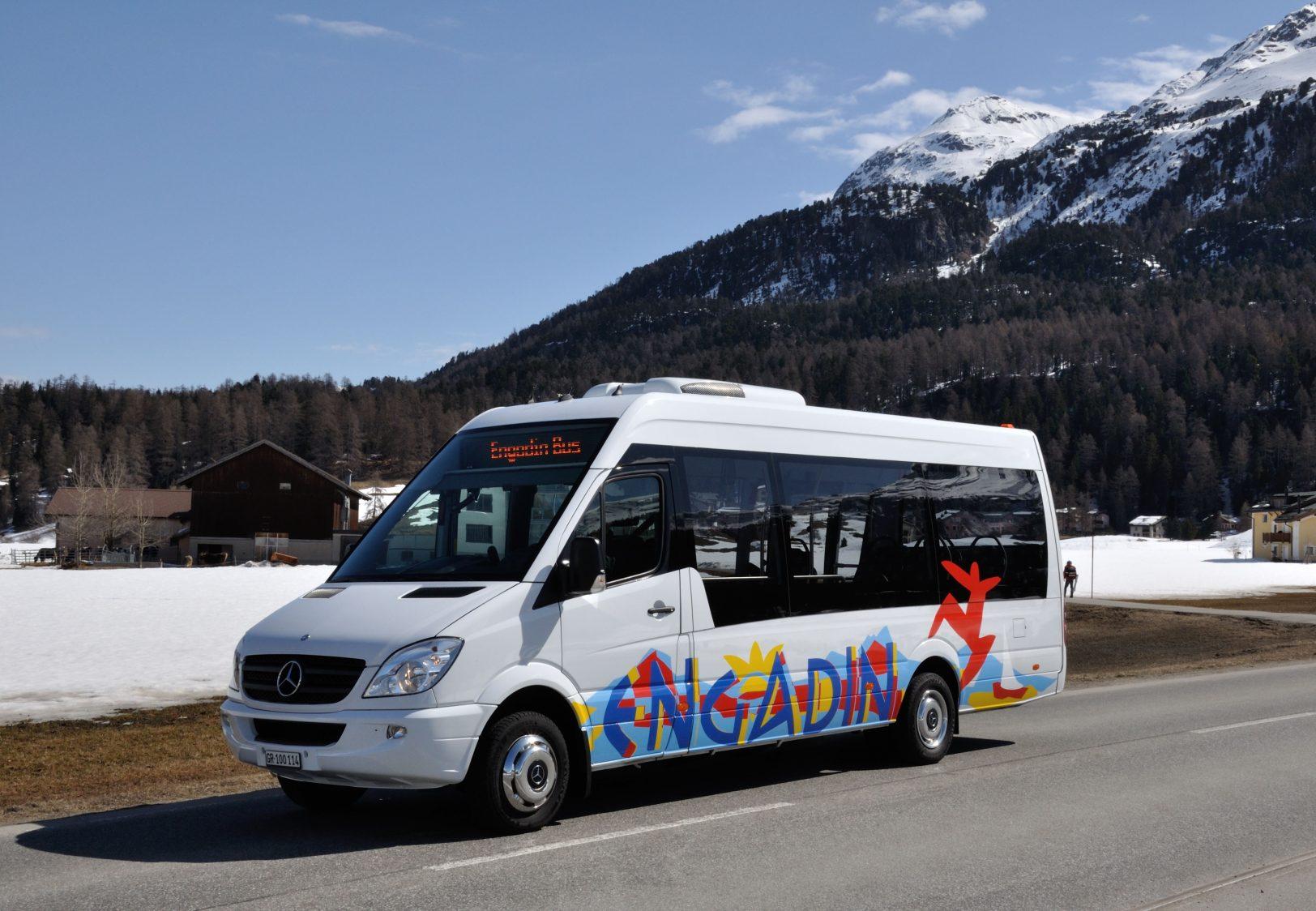 Engadin Bus Sprinter und Frühkurs