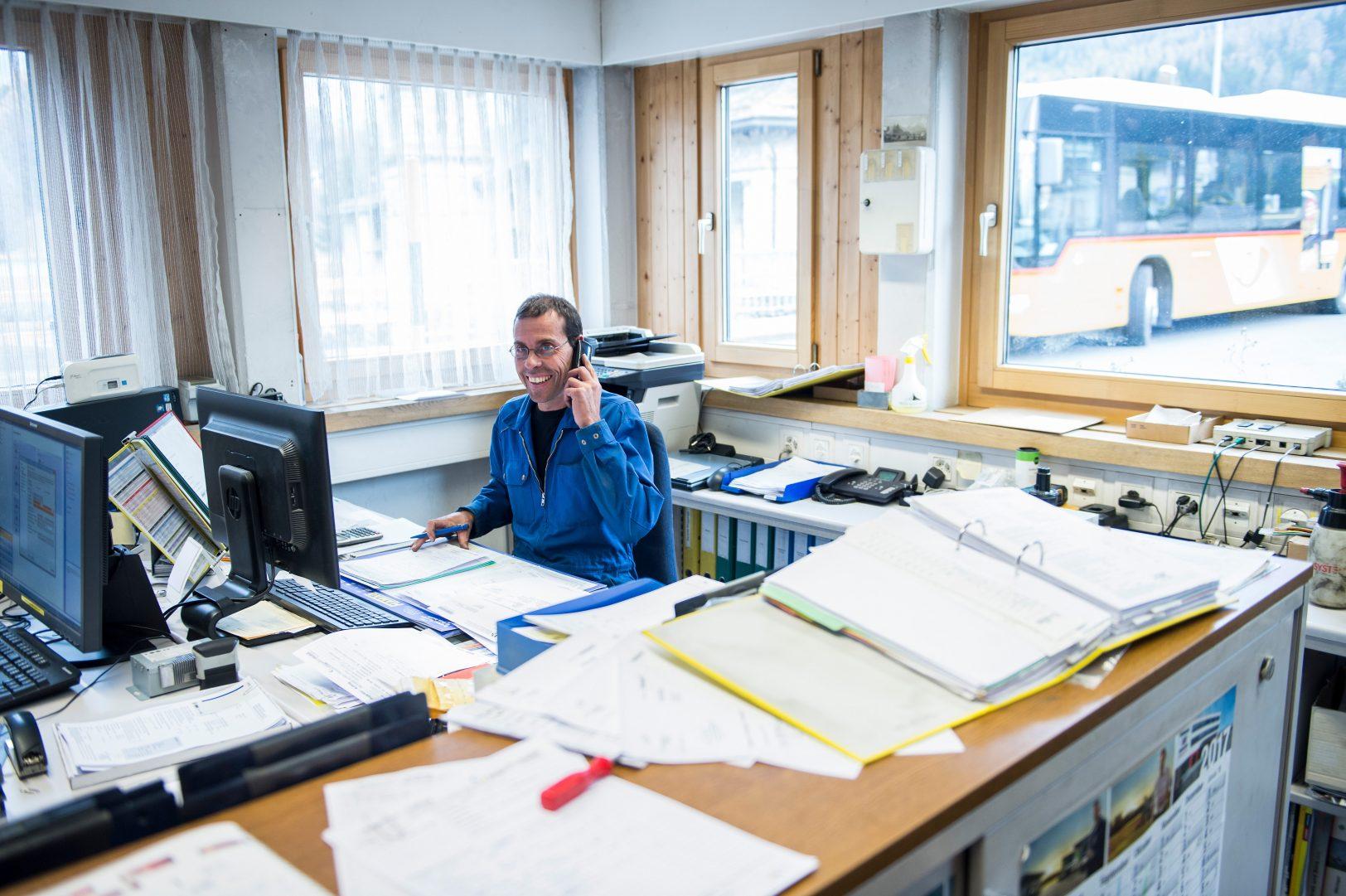 Leiter Werkstatt Engadin Bus