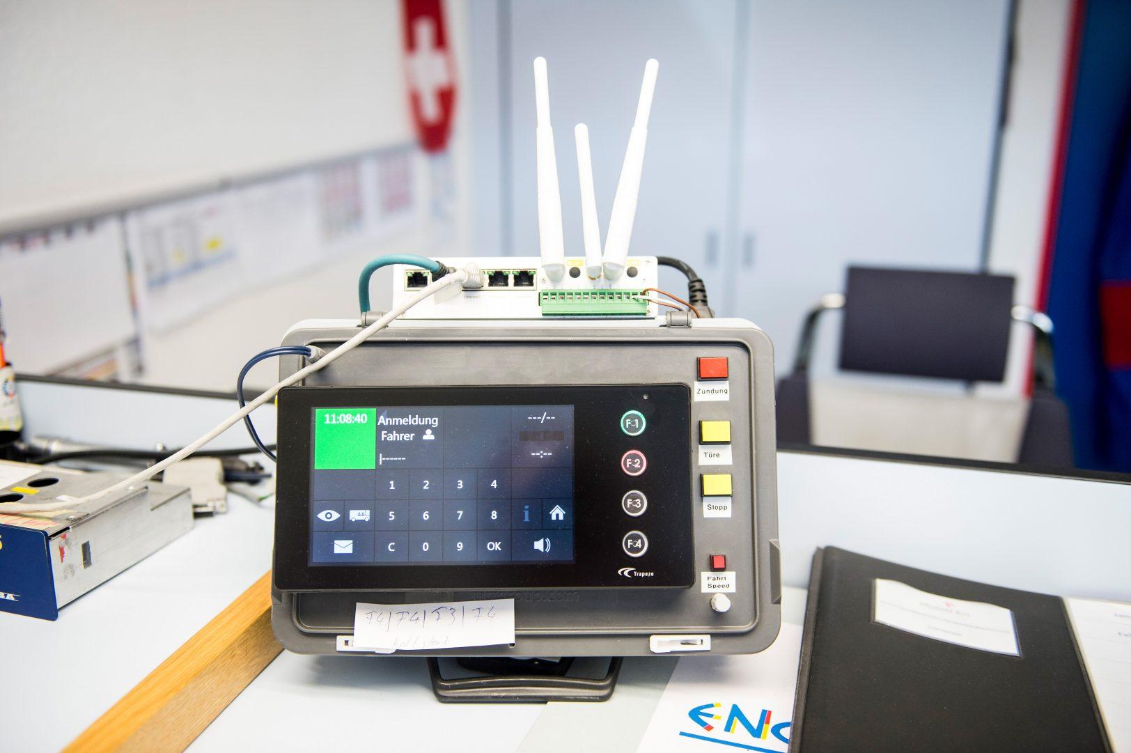 Engadin Bus, Interactive Voice Response Gerät