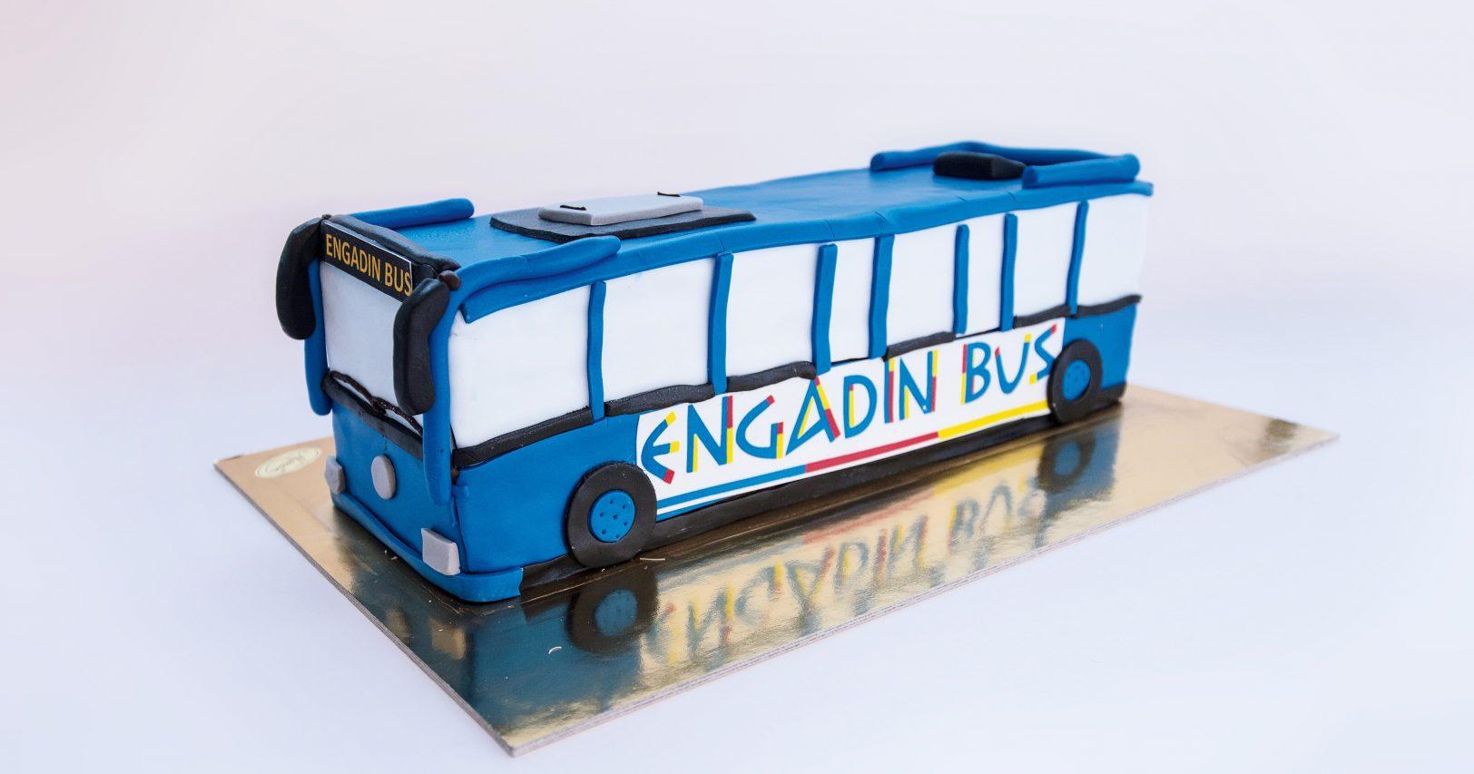 Alles Gute und auf die nächsten 50 Jahre wünscht das Engadin Bus Team!