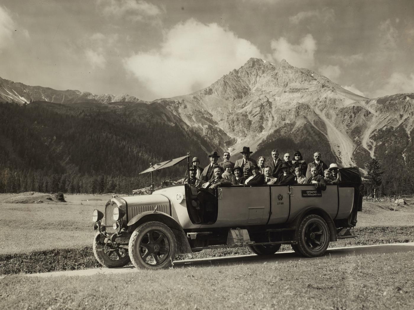 PTT startet 1919 Bus-Ära
