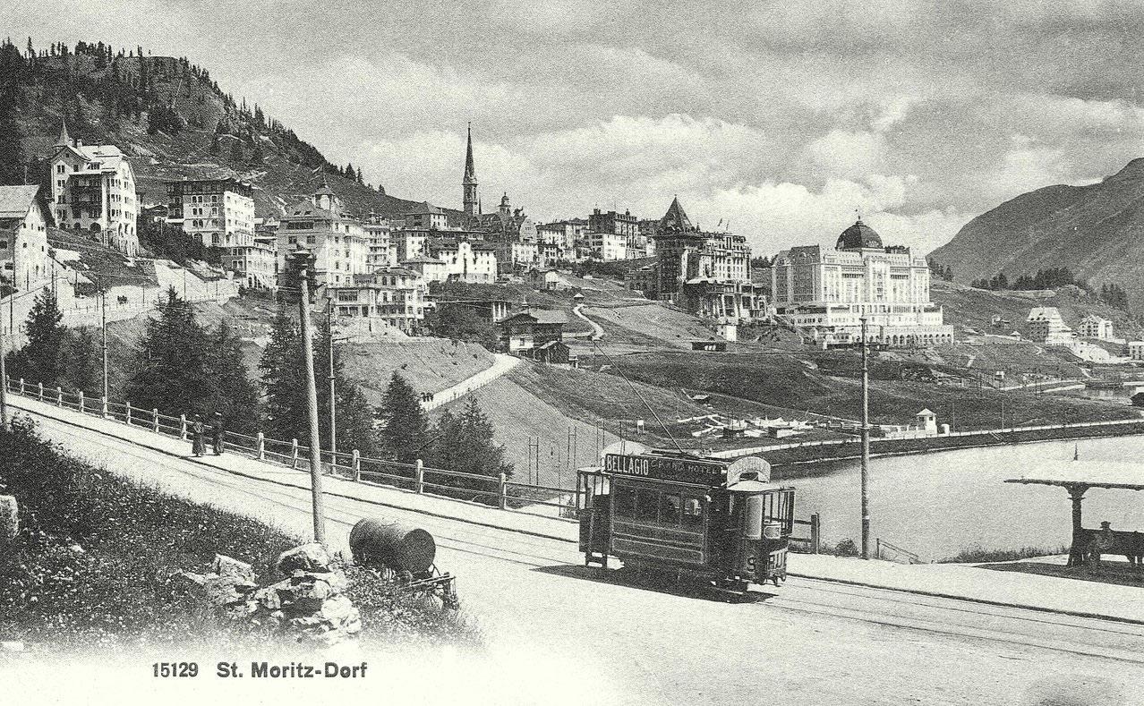 St. Moritz fährt voraus