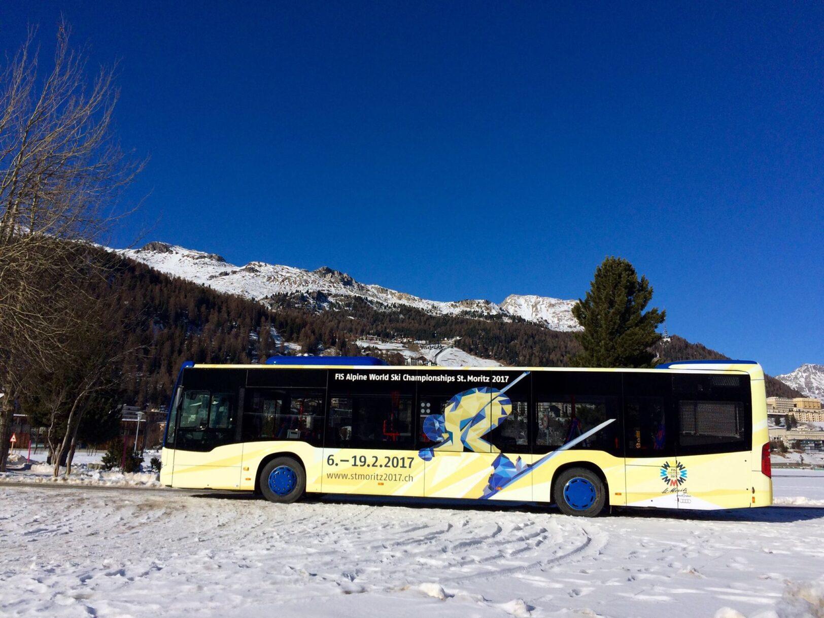Engadin Bus in Topform
