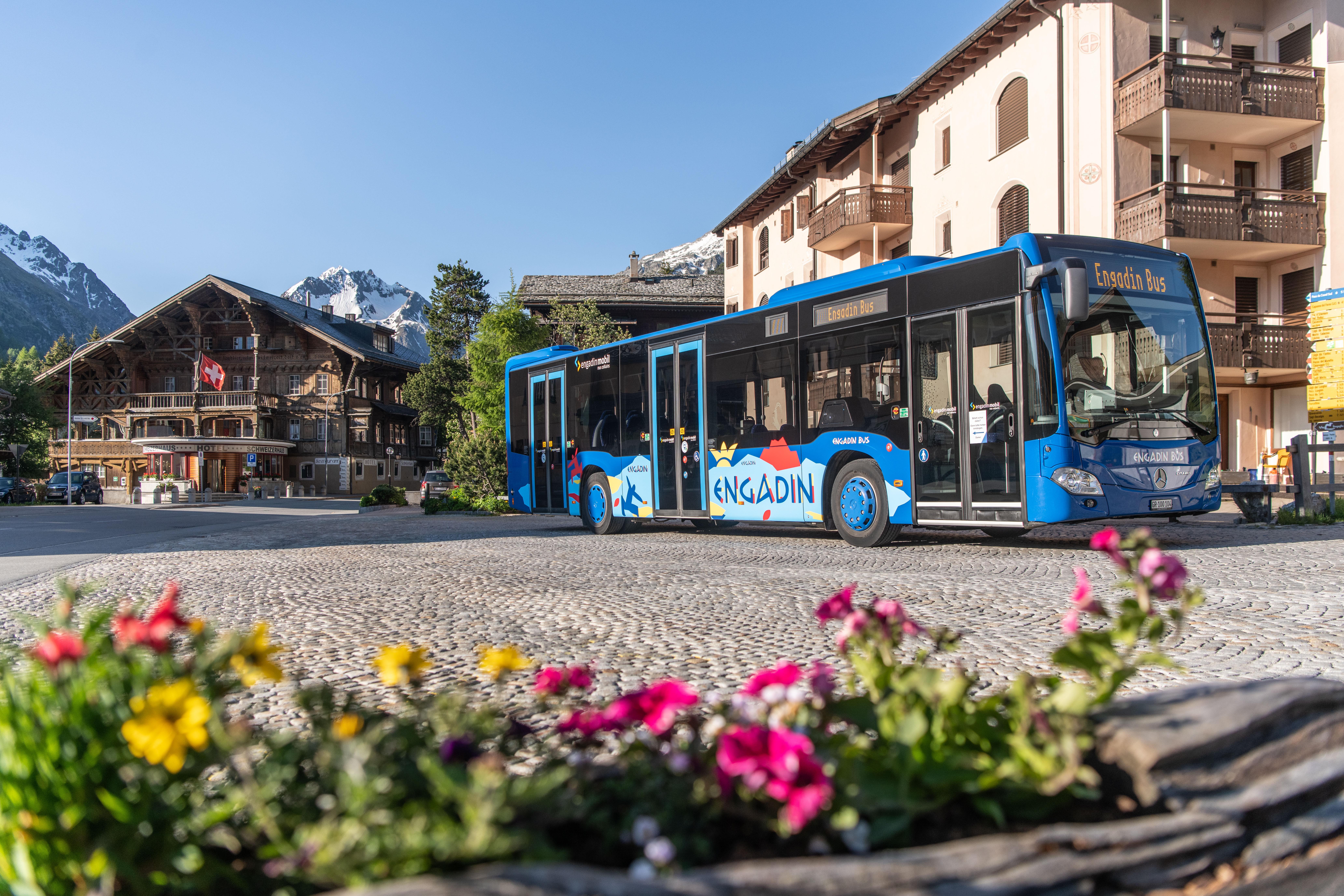 Engadin Bus Sommer
